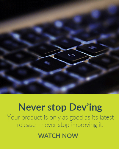 Never stop Deving - watch now